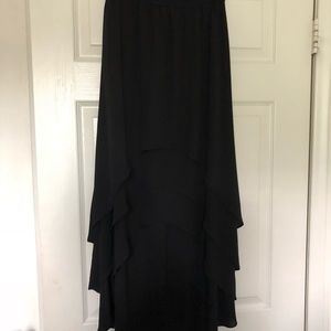 BCBG Max Azira Black Skirt